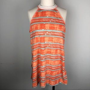 NWOT We The Free racerback striped top